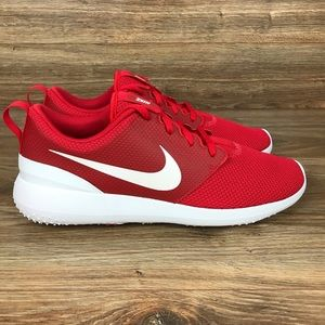 New Nike Roshe G 'University Red' Mens Golf Shoes